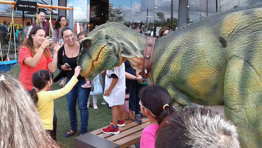 Dinosaurios en vivo en Majadas Once | Junio 2018