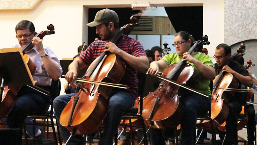Concierto dedicado a los damnificados por el Volcán de Fuego | Junio 2018