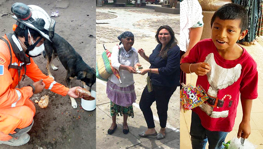Historias de guatemaltecos que demuestran el amor al prójimo