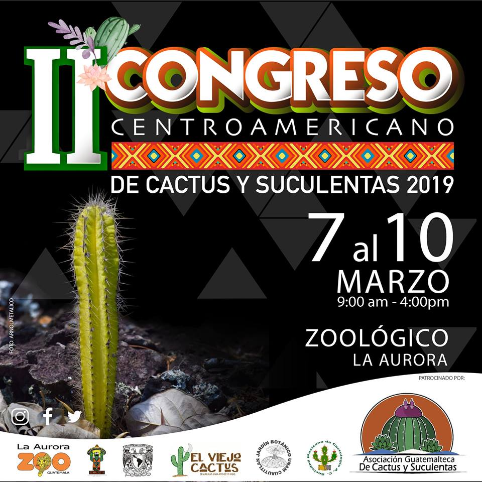 (Foto: II Congreso Centroamericano De Cactus Y Suculentas)