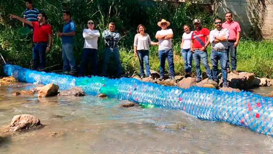 Biobardas colocadas en los ríos de Guatemala son destacadas por el Foro Económico Mundial