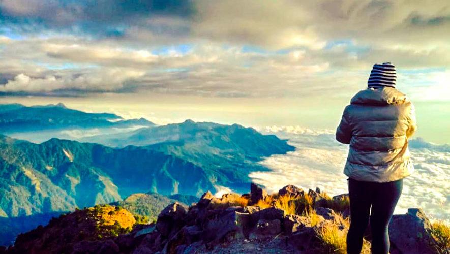 Campamento en el volcán Tajumulco | Enero 2019