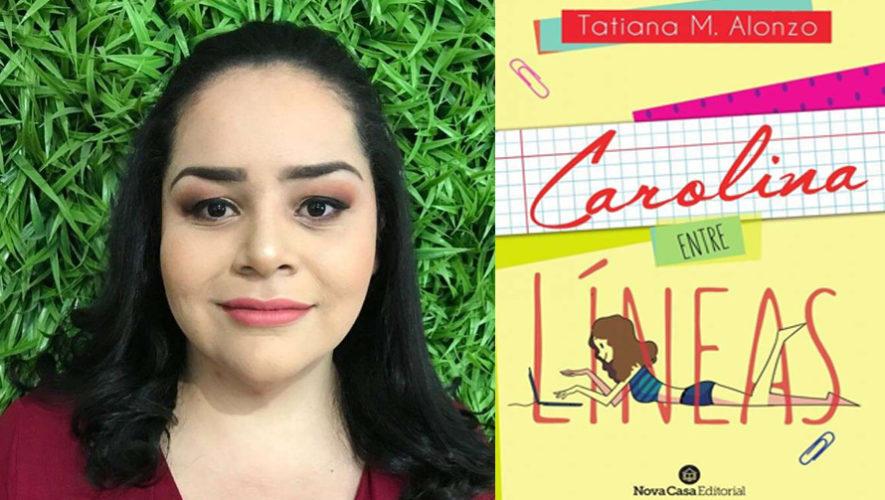 Carolina entre líneas, presentación de libro de escritora petenera | Febrero 2019
