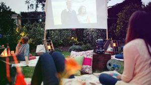 Cine gratuito al aire libre en el jardín de la Alianza Francesa | Febrero 2019