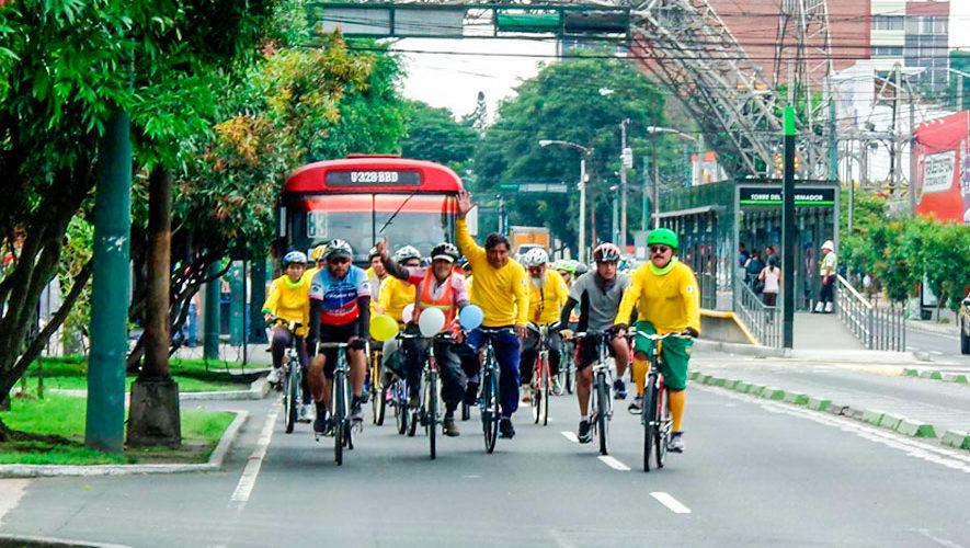 Colazo dominical en bicicleta por la Ciudad de Guatemala | Enero 2019