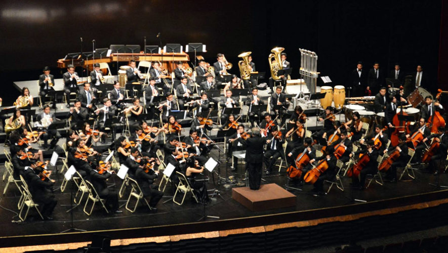 Concierto de la Orquesta Sinfónica Juvenil Intercultural en Antigua | Enero 2019