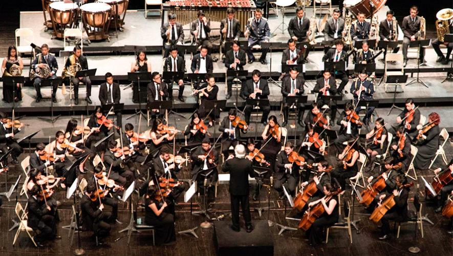 Conciertos gratuitos de la Orquesta Sinfónica Juvenil Intercultural en Guatemala