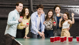Convocatoria para participar en el primer torneo nacional de Beer Pong 2019 en Guatemala