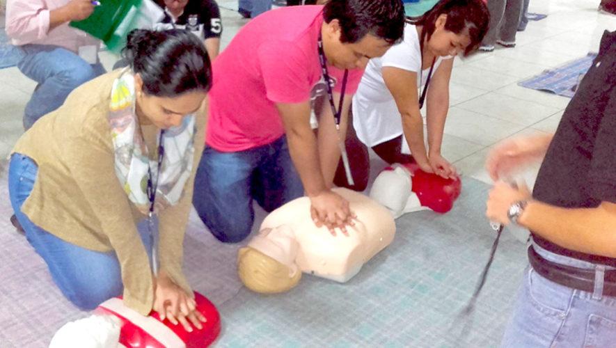 Curso básico de primeros auxilios y RCP | Enero 2019