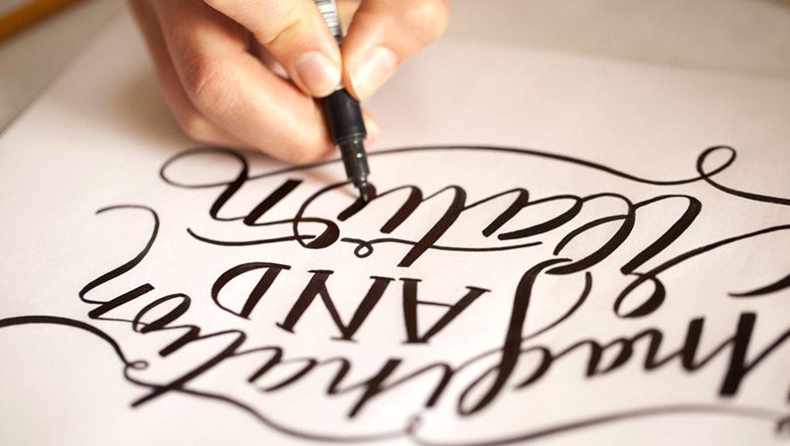 Curso de lettering para principiantes | Enero 2019