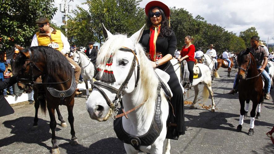 Desfile de caballos en Mixco | Enero 2019