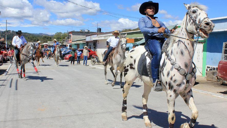 Desfile hípico en San José Acatempa, Jutiapa | Febrero 2019