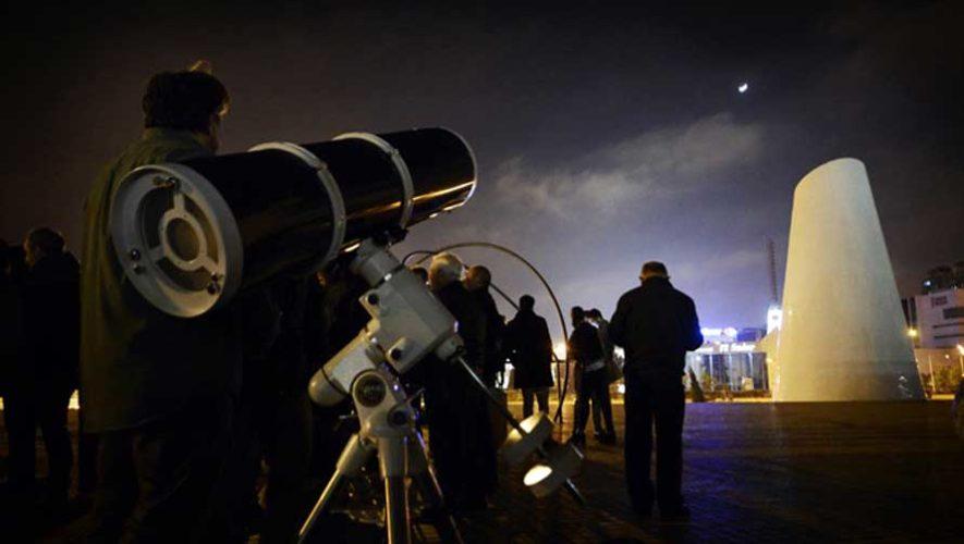 Taller astronómico sobre el eclipse total de luna | Enero 2018