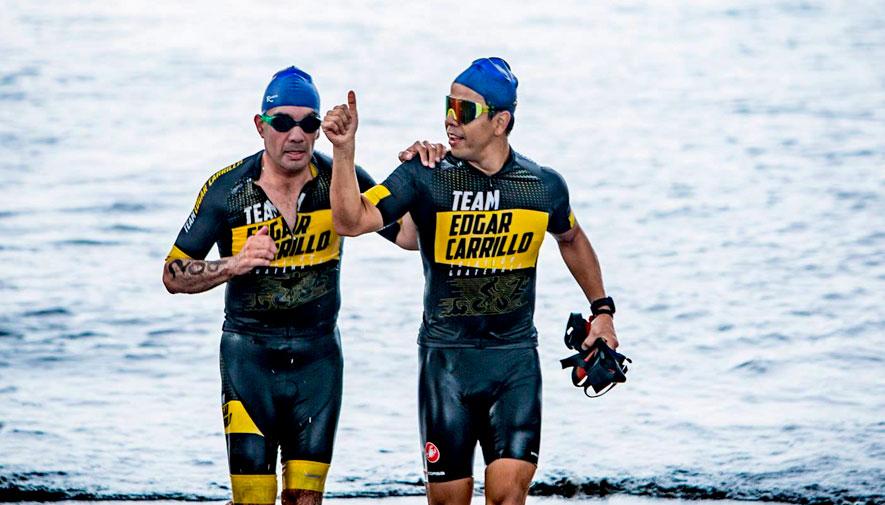 Edgar Carrillo, el triatleta no vidente que busca nuevos retos en el 2019