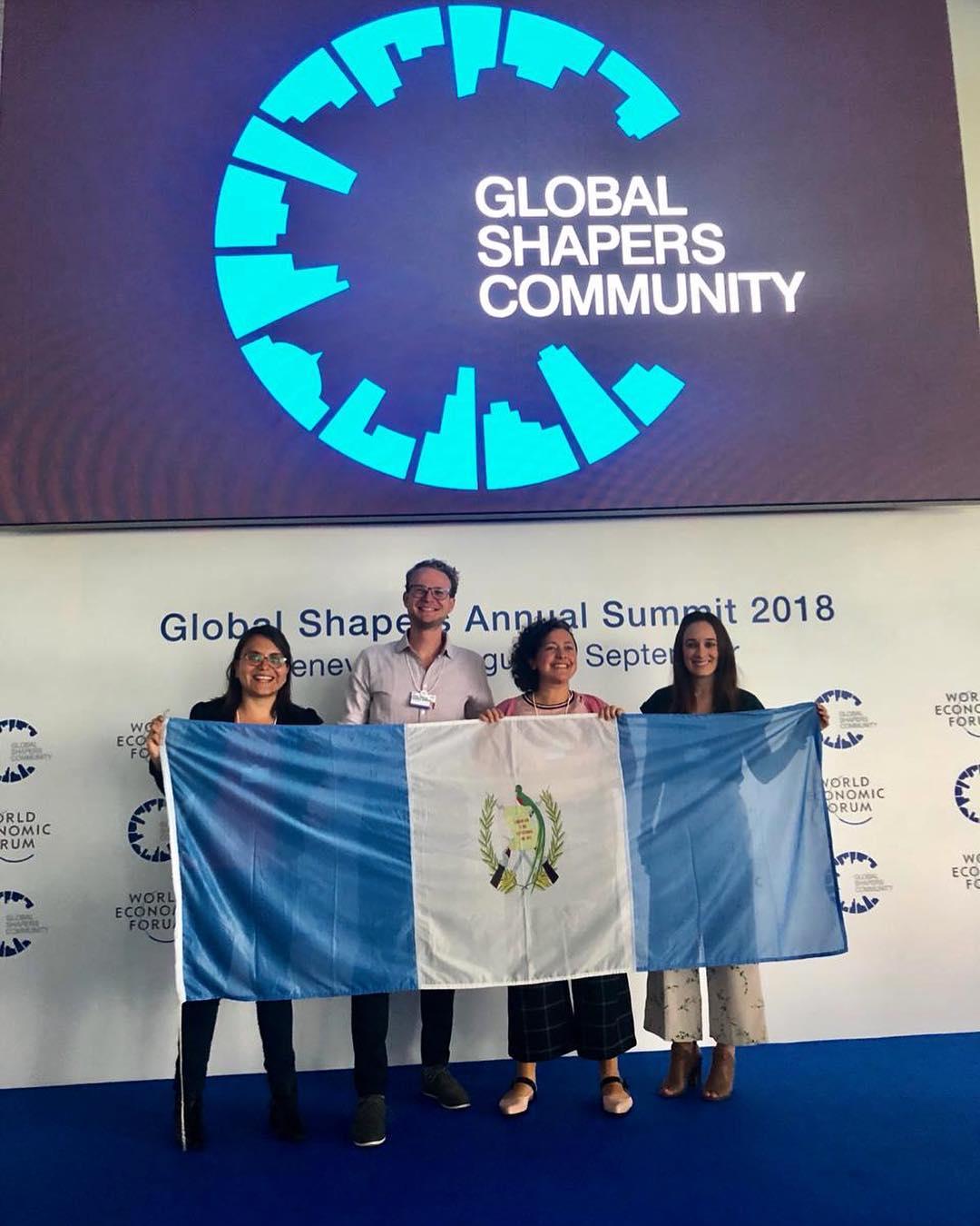 El Centro de la Ciudad de Guatemala Global Shaper