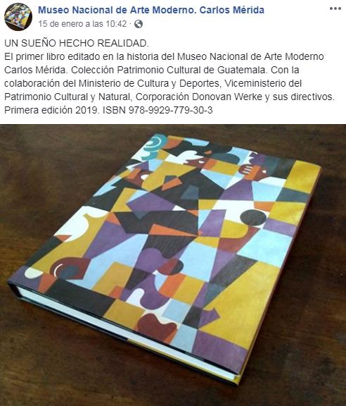 El primer libro sobre el museo
