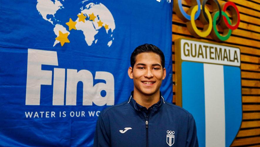 Erick Gordillo es becado por la Federación Internacional de Natación