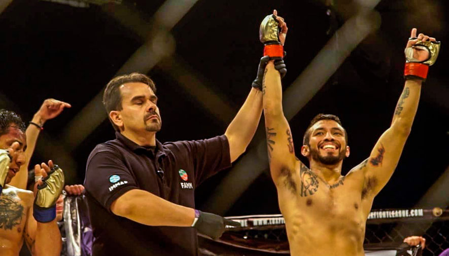 Erick Ruano peleará por el titulo de peso gallo en el LUX 004 de MMA
