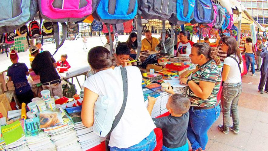 Feria de útiles escolares en el Parque de la Industria | Enero 2019