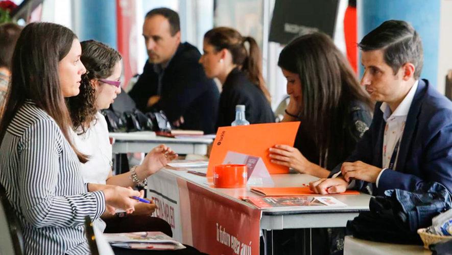 Ferias de empleo en la Ciudad de Guatemala en enero y febrero de 2019