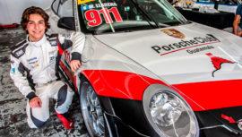 Fox Sports Latinoamérica destacó al piloto guatemalteco Mateo Llarena