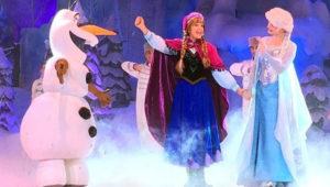 Frozen, obra familiar en el Teatro Abril | 2019