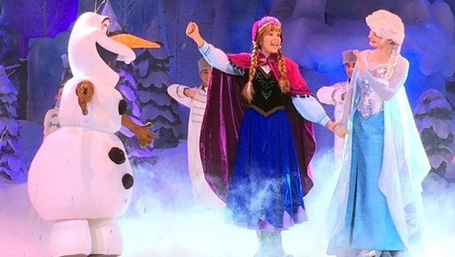 Frozen, obra familiar en el Teatro Abril   2019