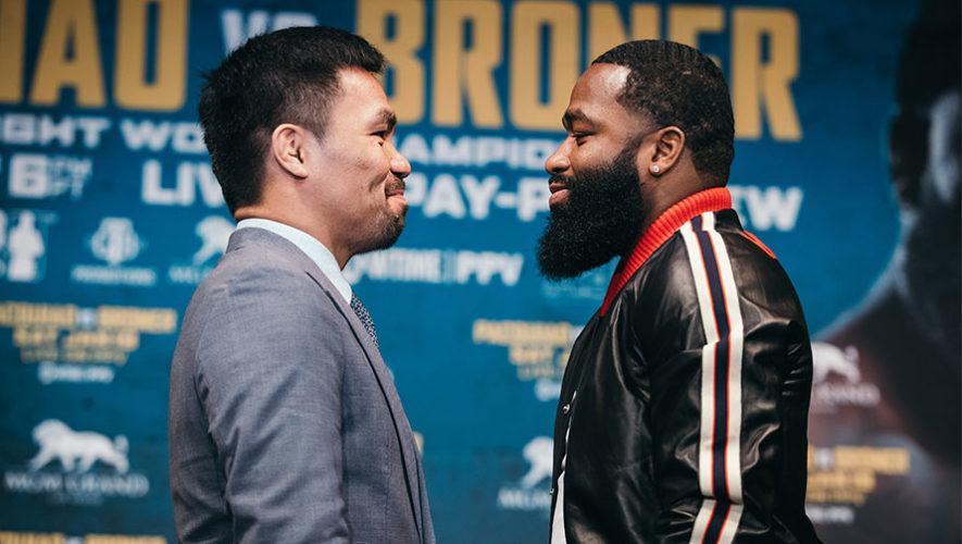 Horario y canales en Guatemala para ver en vivo la pelea Manny Pacquiao vs. Adrien Broner