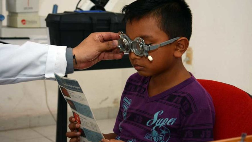 Jornada de optometría en Antigua Guatemala   Enero 2019