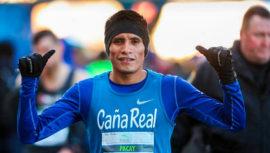 Mario Pacay con nuevo récord nacional en el Medio Maratón de Houston 2019