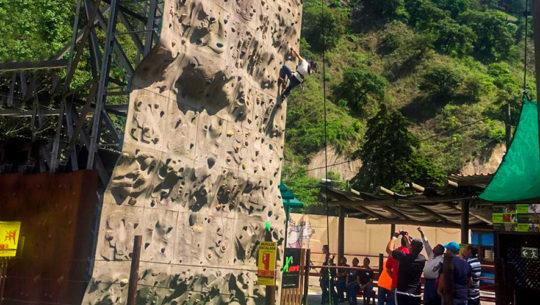 Muros artificiales para divertirse en la Ciudad de Guatemala