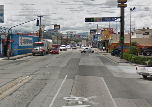 Nuevo paso a desnivel en Calle Martí de la zona 6
