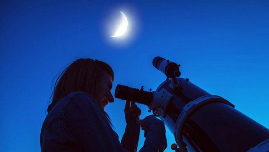 Observación del eclipse total de luna en Ciudad de Guatemala | Enero 2019