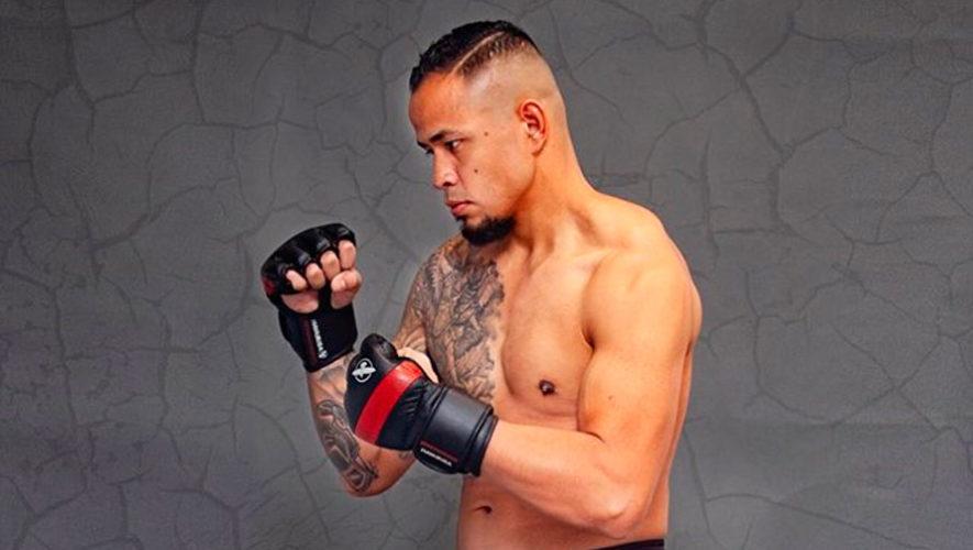 Odan Chinchilla representará a Guatemala en el Bellator 214 de MMA