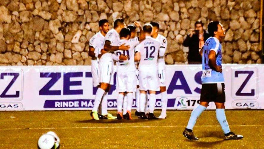 Partido de Comunicaciones y Sanarate por el Torneo Clausura   Enero 2019