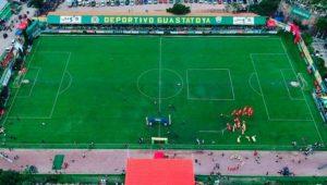 Partido de Guastatoya y Malacateco por el Torneo Clausura   Enero 2019