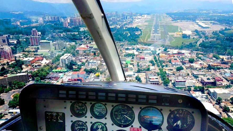 Paseos en helicóptero por la Ciudad de Guatemala | Marzo 2019