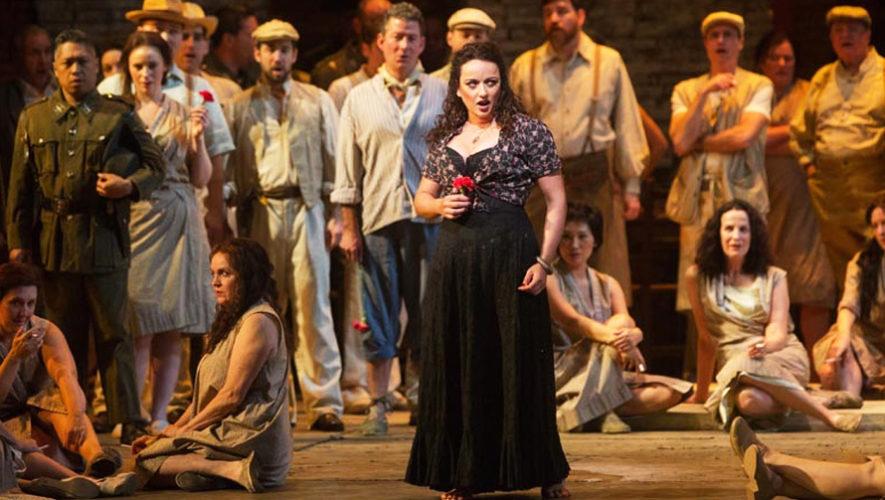 Proyección de la ópera Carmen en Guatemala, desde el MET de Nueva York | Febrero 2019