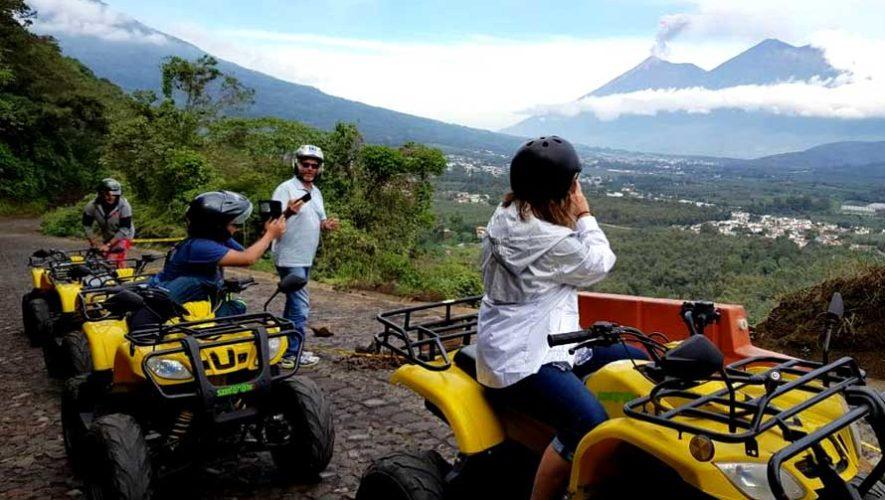 Recorrido en cuatrimoto por miradores alrededor de Antigua Guatemala | Febrero 2019