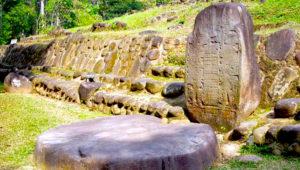 Recorrido histórico por el sitio arqueológico Takalik Abaj   Febrero 2019