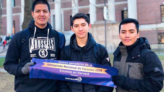 Seguros Universales llevó a los ganadores de la Olimpiada Nacional de Ciencias 2018 a Harvard