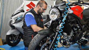 Jornada de servicio gratuito para motos, de Suzuki | Enero 2019