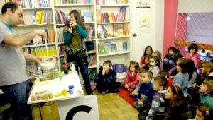 Show gratuito de experimentos para niños   Enero 2019