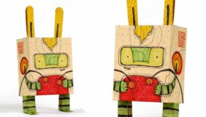 Taller de muñecos de papel en Antigua Guatemala | Febrero 2019