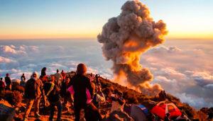 Viaje para escalar el volcán Santa María y visita a las Fuentes Georginas | Enero 2019