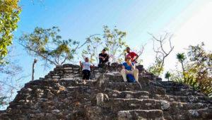 Caminata hasta el sitio arqueológico El Mirador, Petén | Diciembre 2018