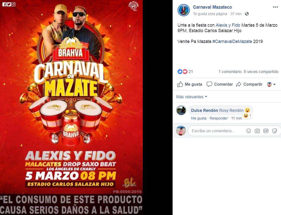 (Foto: Carnaval Mazateco)