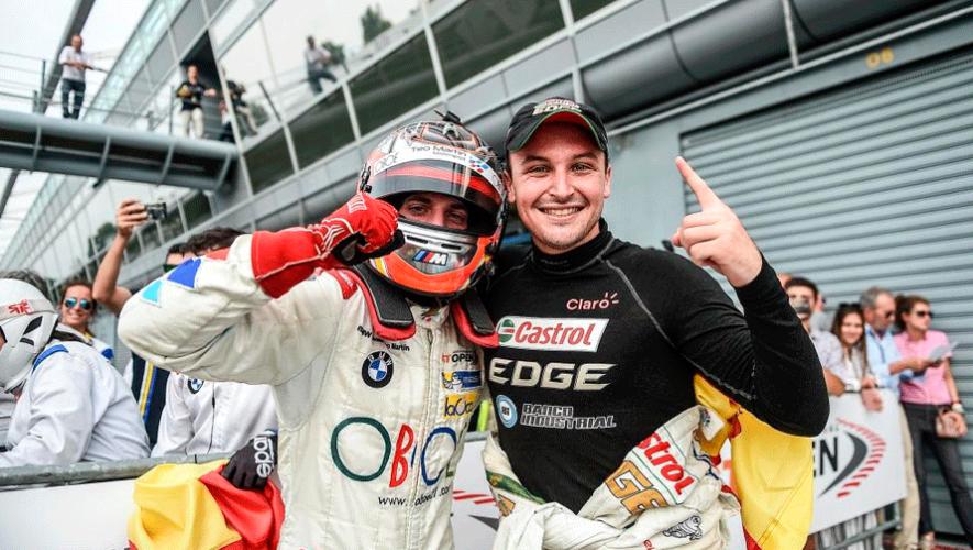 Andrés Saravia seguirá siendo piloto de Teo Martín Motorsport para el 2019