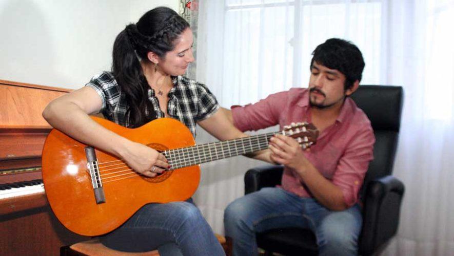 Cursos gratuitos de guitarra y marimba en Quezaltepeque | Febrero 2019