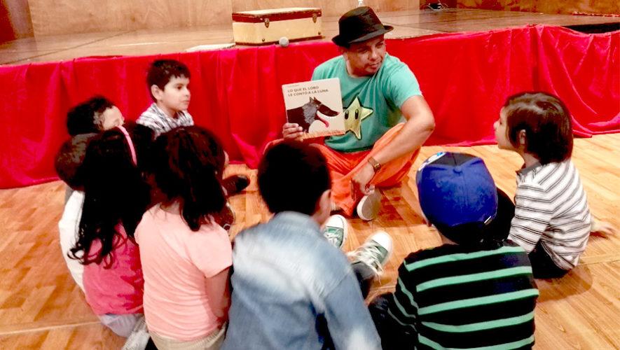 Club gratuito de lectura infantil en zona 9 | Marzo 2019